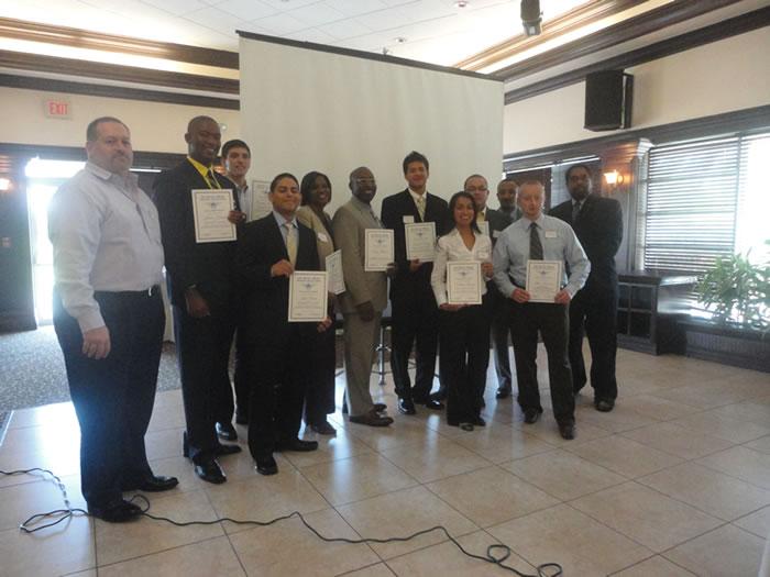 Recipients of 2011 GMAA-Batchelor Aviation Scholarship